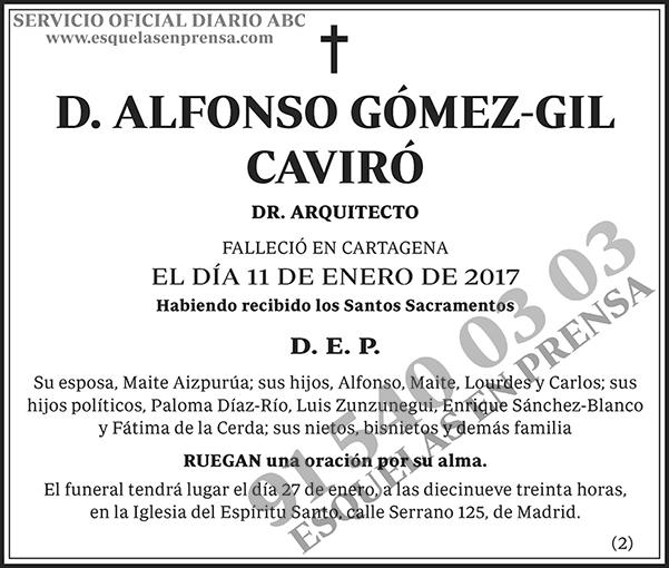 Alfonso Gómez-Gil Caviró